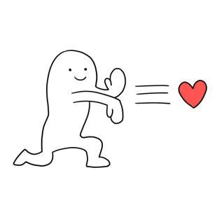 微信表情感冒了怎么表达爱意_丢爱心表情包 颜文字表情丢爱心_微微风