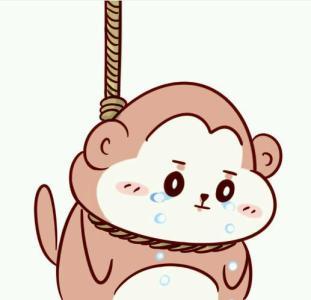 害羞的猴子捂脸的表情图片素材_微微风图片