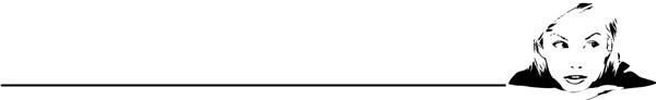 微信白分割线素材