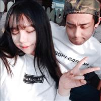 韩系情侣头像05