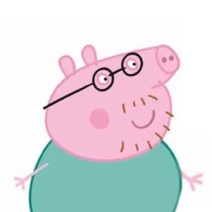第1张2017最火微信头像小猪佩奇