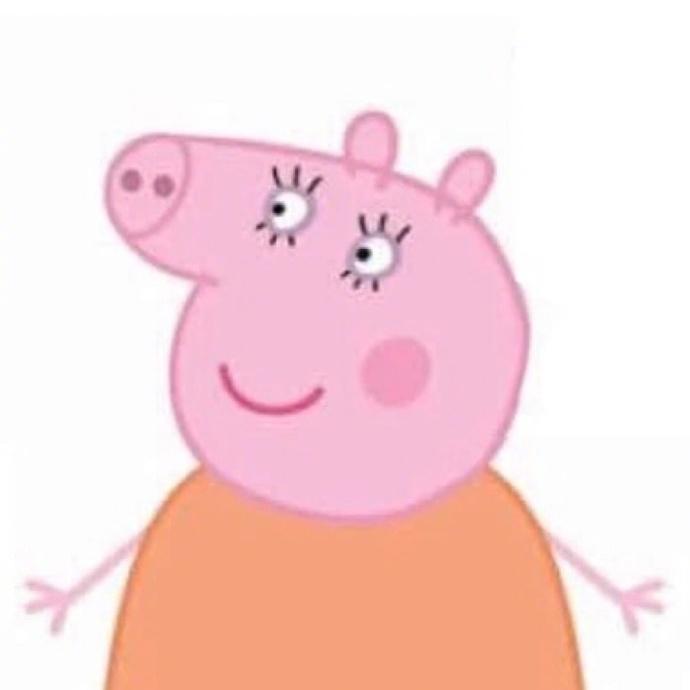 第2张2017最火微信头像小猪佩奇